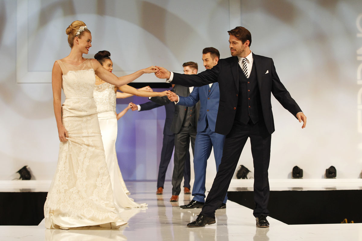 The Wedding Journal Show in Dublin Wows Huge Crowds