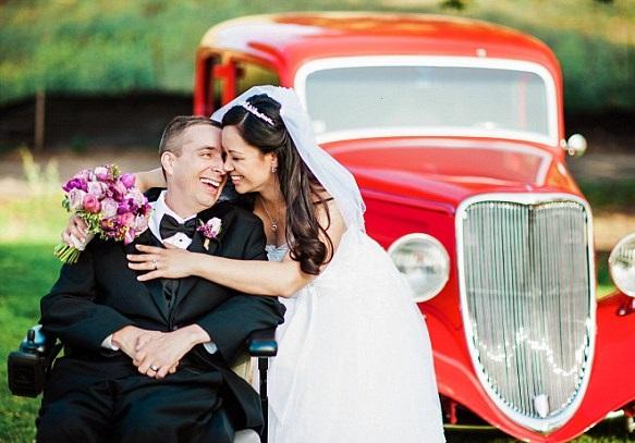 Heartbreaking love story: ALS patient marries his nurse