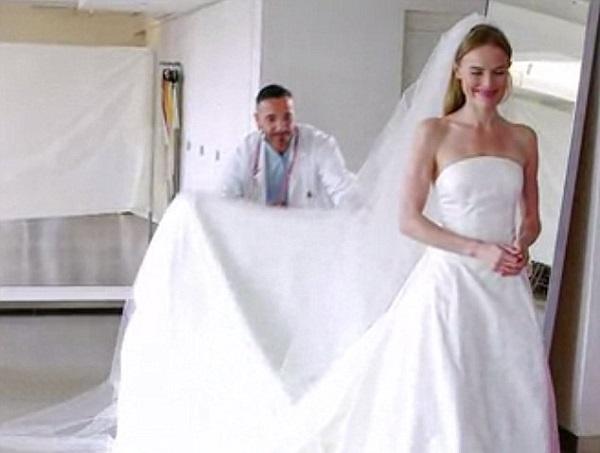 celebrity wedding dress 6