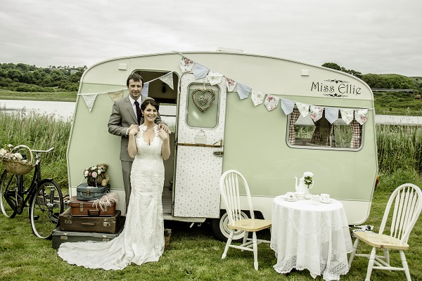 Timeless elegance from Miss Ellie's Vintage Caravan