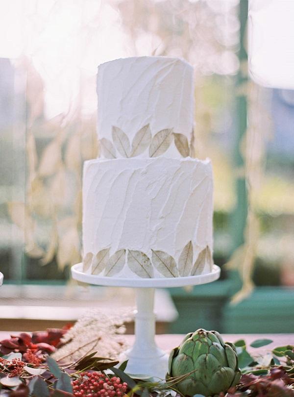autumn wedding ideas cake 2