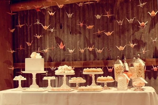 autumn wedding ideas cake table