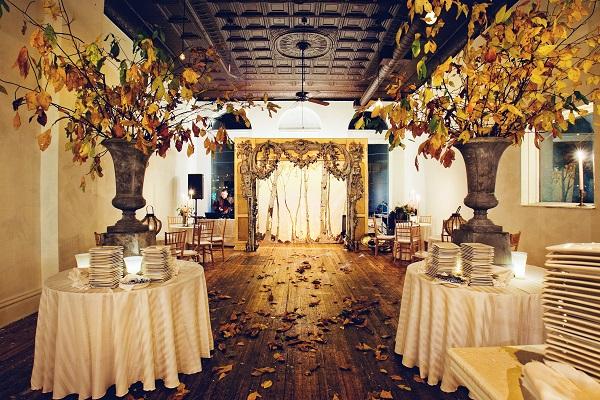 autumn wedding ideas room styling