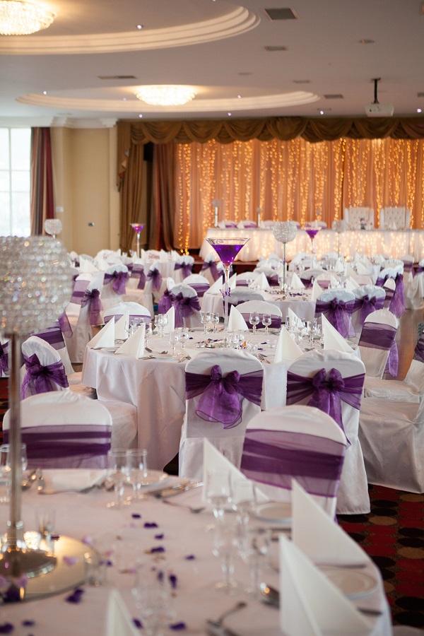 Inishowen Gateway Hotel Winter Wedding Package room decor