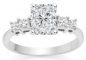 star sign engagement ring gemini