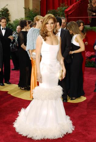 Celebrity Oscar De La Renta Wedding Dresses 5
