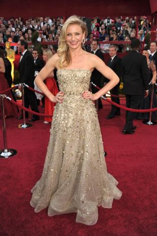 Celebrity Oscar De La Renta Wedding Dresses 6