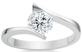 star sign engagement ring pisces
