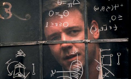 Russell Crowe in A Beautiful Mind things no one tells you about planning a wedding