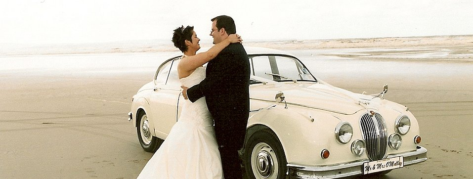 Vintage Jag Hire, Ireland: Arrive in Style on Your Big Day