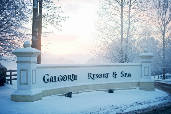 Galgorm in the snow
