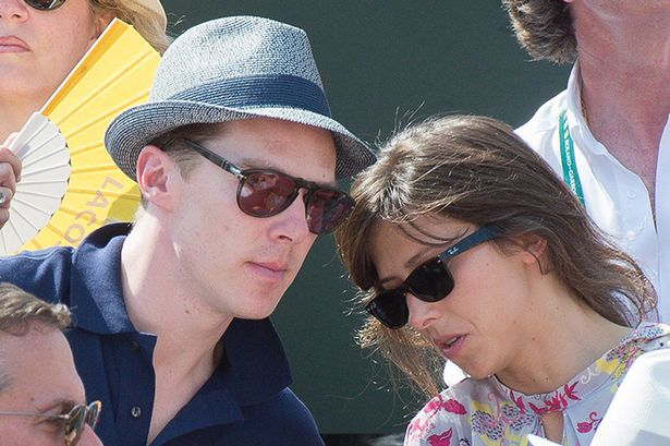 Benedict Cumberbatch announces his engagement in a very old school way