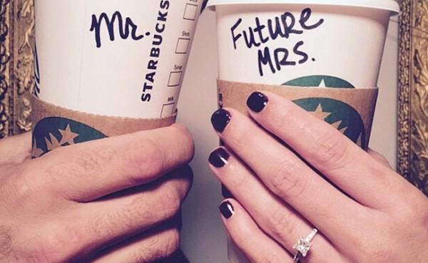 coffee themed wedding