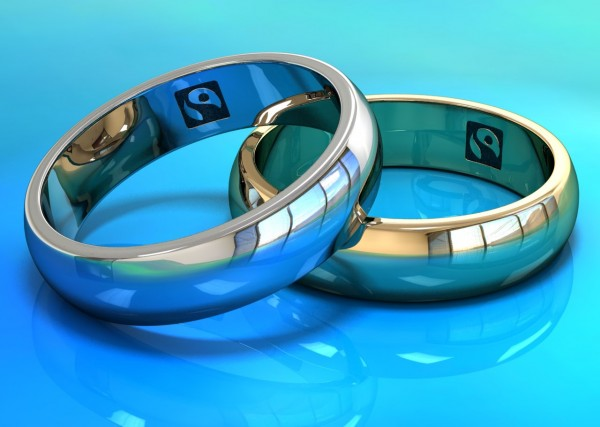 Rings with Fairtrade Mark