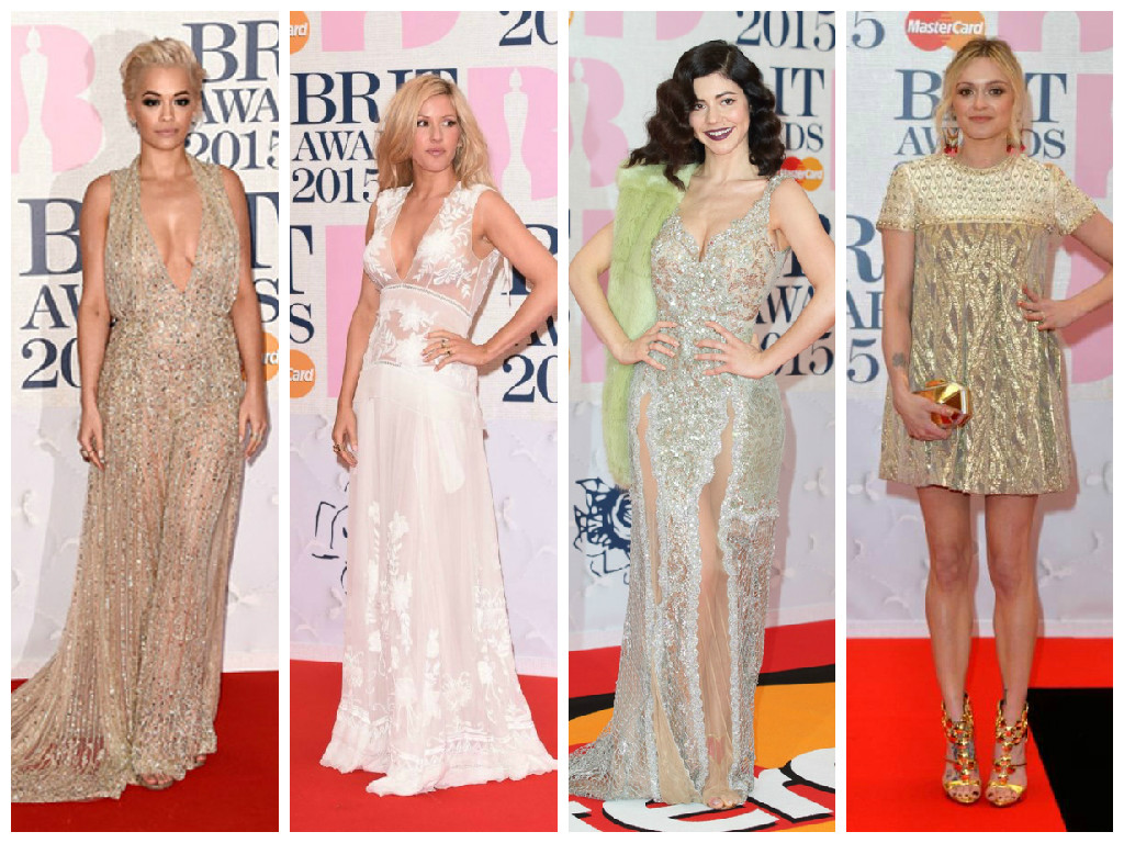 Va va voom at the Brits 2015!
