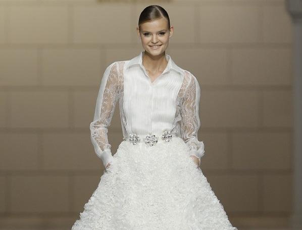 Wedding Dress Trend: Big Skirts