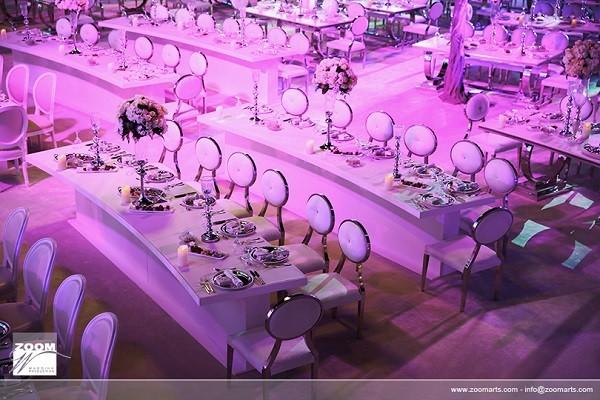 Emirati royal wedding table plan