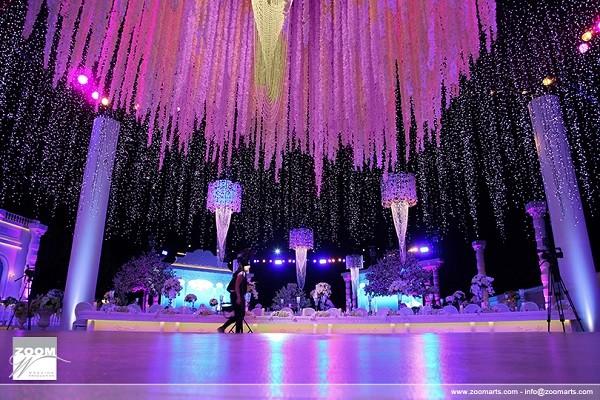 Emirati royal wedding decor