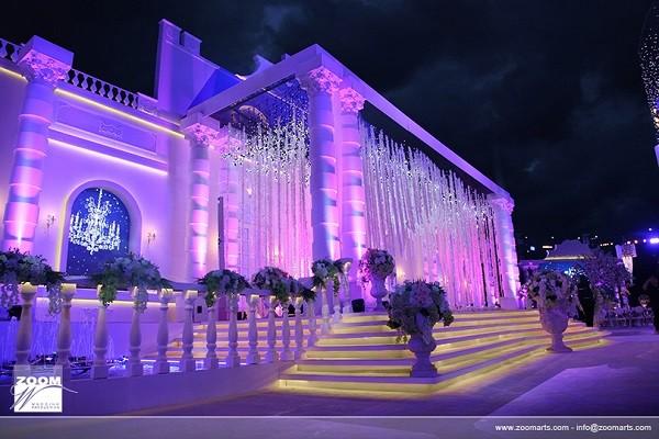 Emirati royal wedding entrance