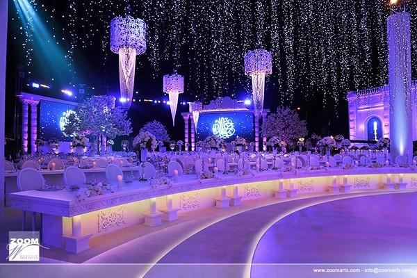 Emirati royal wedding seating