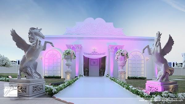 Emirati royal wedding venue