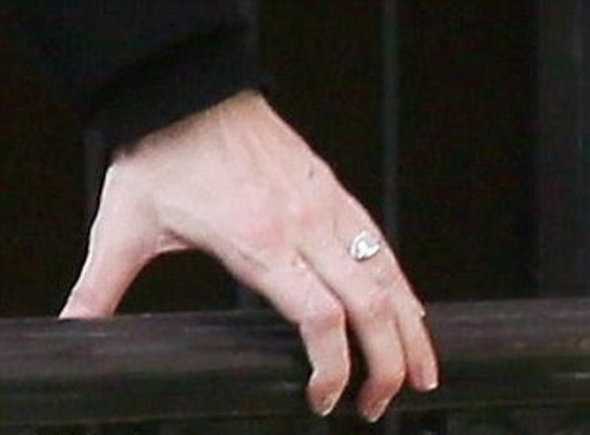 Is that an engagement ring, Liv Tyler?