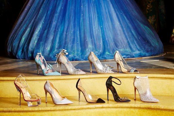 Cinderella's Fairytale-Inspired Wedding Shoes