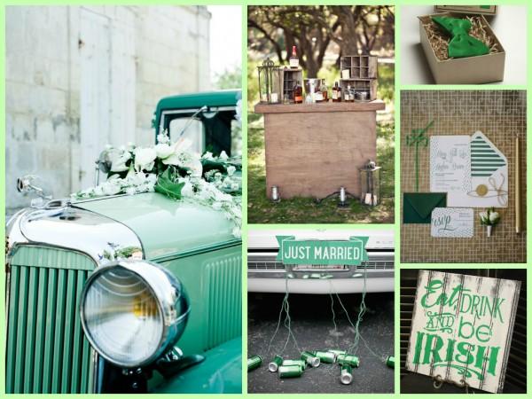 St. Patrick's Day Wedding Inspiration 7