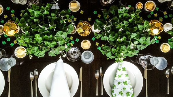 St. Patrick's Day Wedding Inspiration