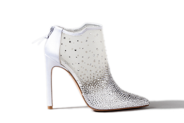 Cinderella Inspired Bridal Shoes 2015