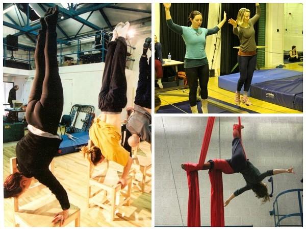 Belfast Circus School, new fitness trends 2015