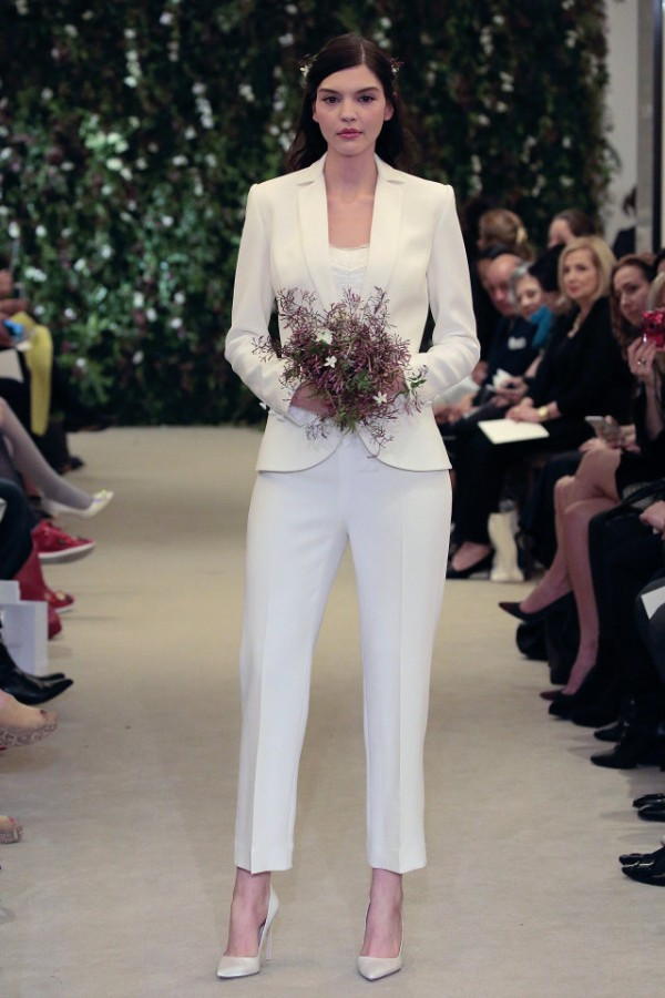 Wedding trend: Bridal Trouser Suits 3
