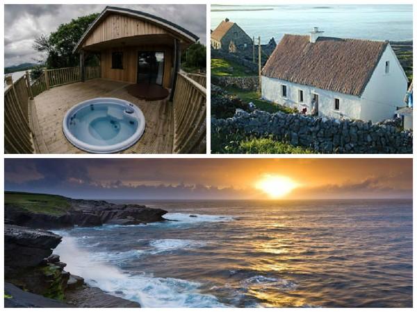 Irish mini moon cottage rental