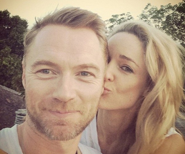Ronan Keating and Storm engaged, celebrity engagement