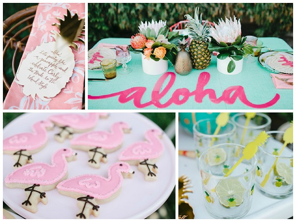 Totally Tropical Bridal Shower Ideas