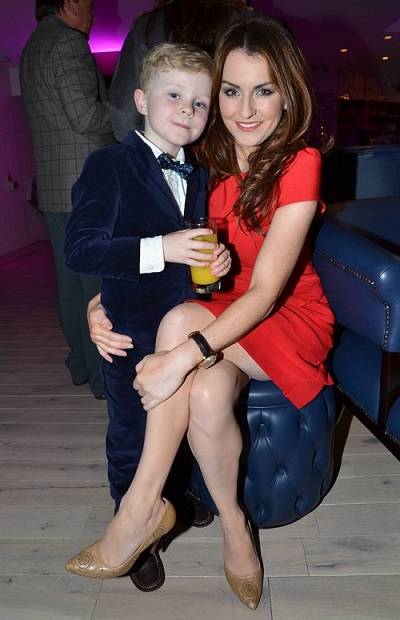 Mairead and son Dara