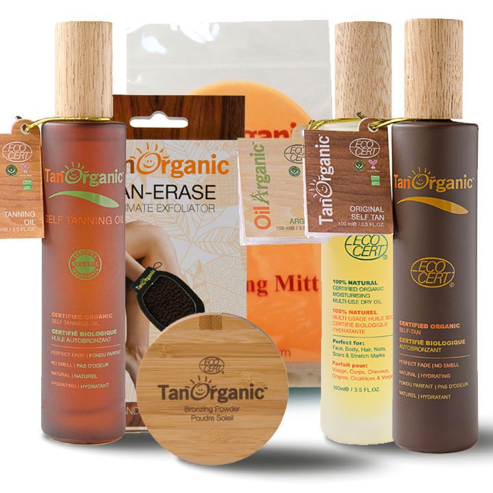 Win Your Healthy Glow with TanOrganic!