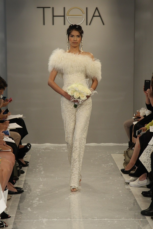 Wedding trend: Bridal Trouser Suits 4