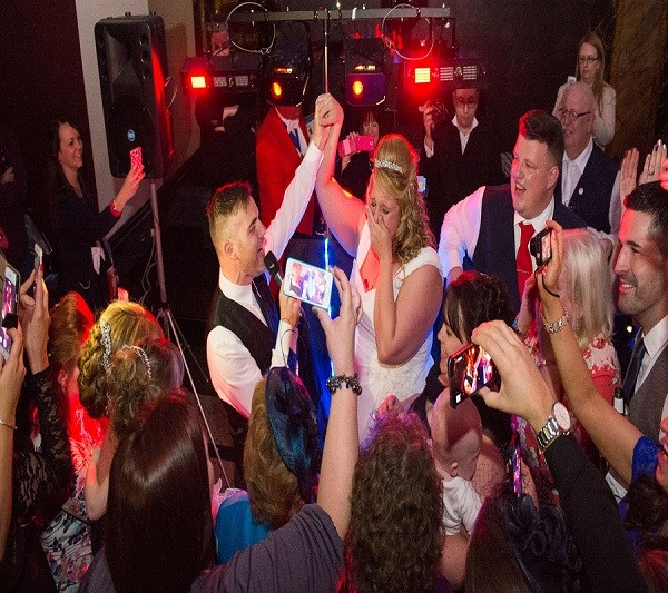 Gary Barlow Wedding