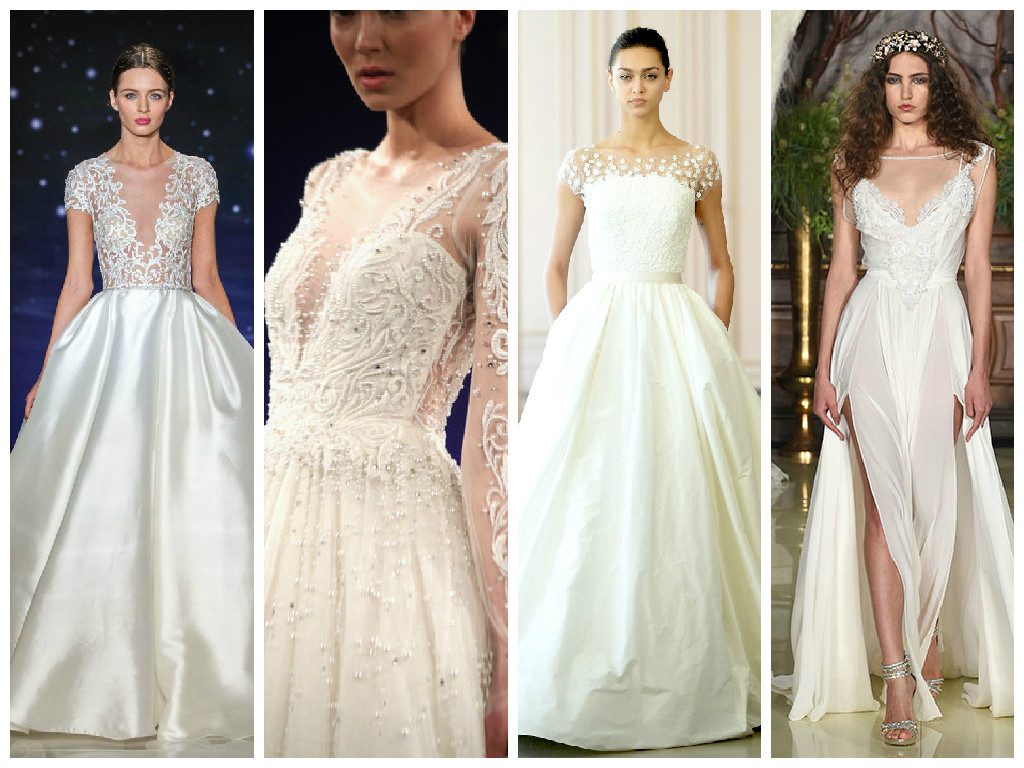 Straight off the NY runway: Bridal 2016 Trends