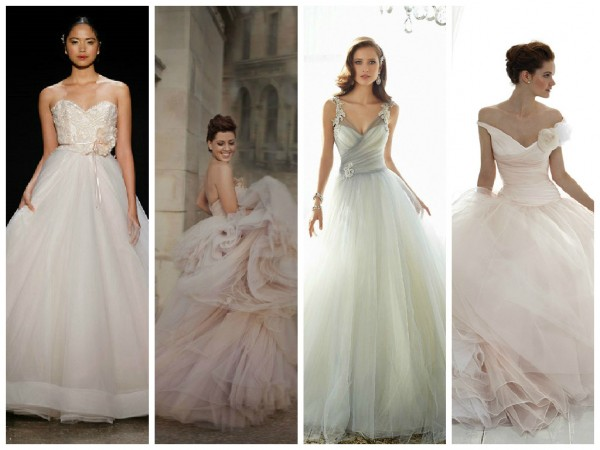 Hottest Trend for Summer 2015: Tulle Wedding Dresses