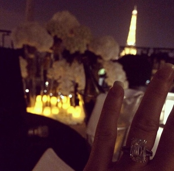 Luisa Zissman Engagement ring