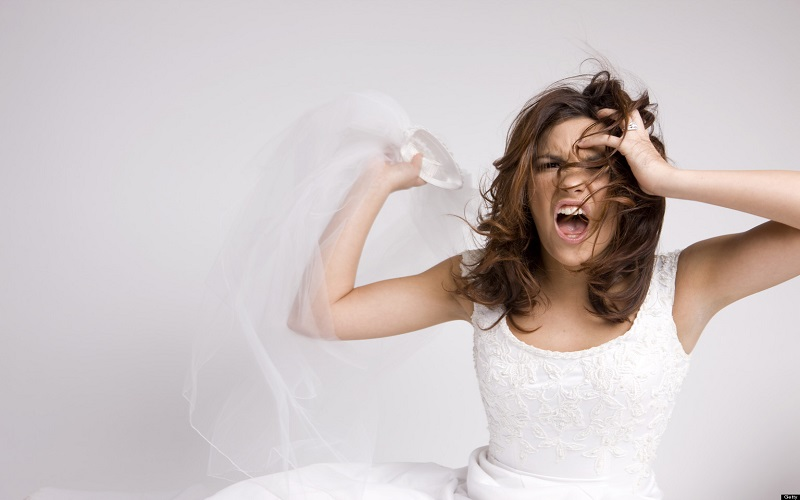 20 Irrational Thoughts Brides Have on their Wedding Morning