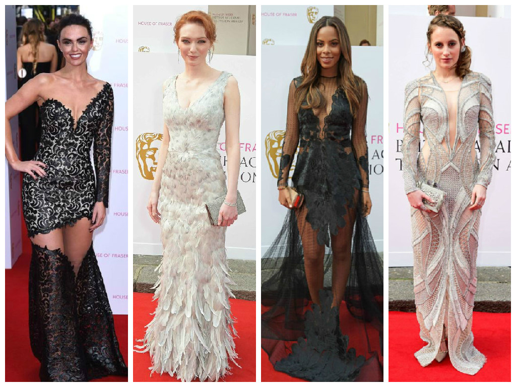 Dress disasters & fashion hits from the 2015 TV BAFTAs
