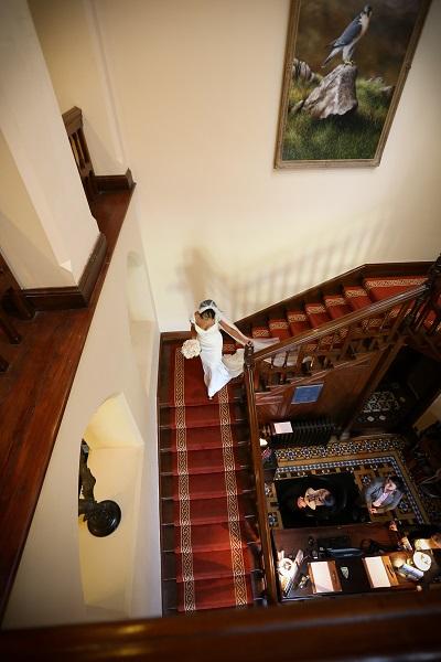 Irish wedding Isabelle & Peter Mount Falcon Estate