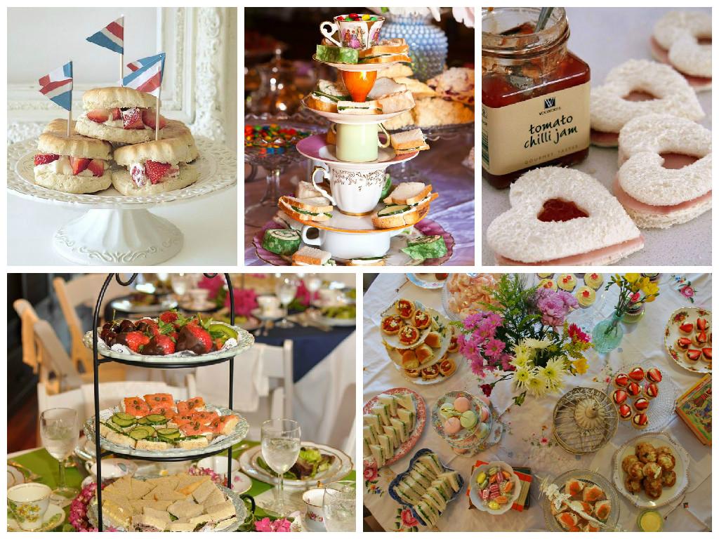 Birthday Tea Party Food Ideas