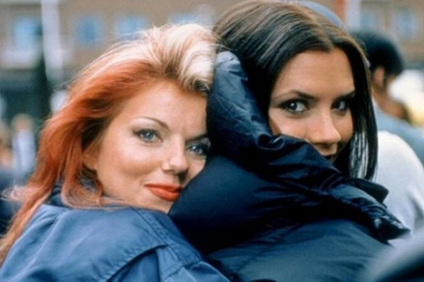 Victoria Beckham and Geri Halliwell wedding