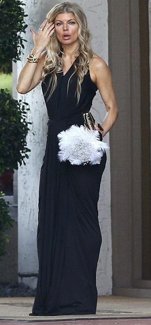 fergie bridesmaid dress