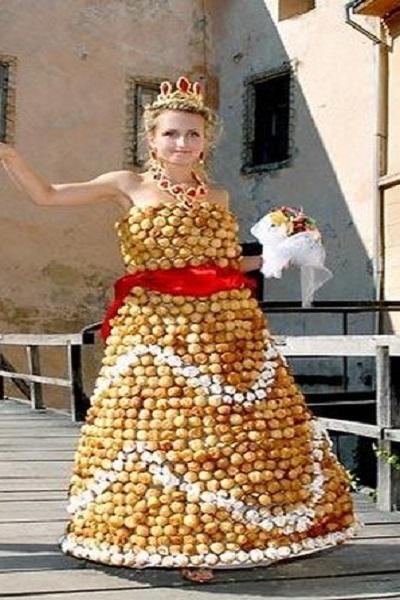 Lady Gaga Wedding Dress+