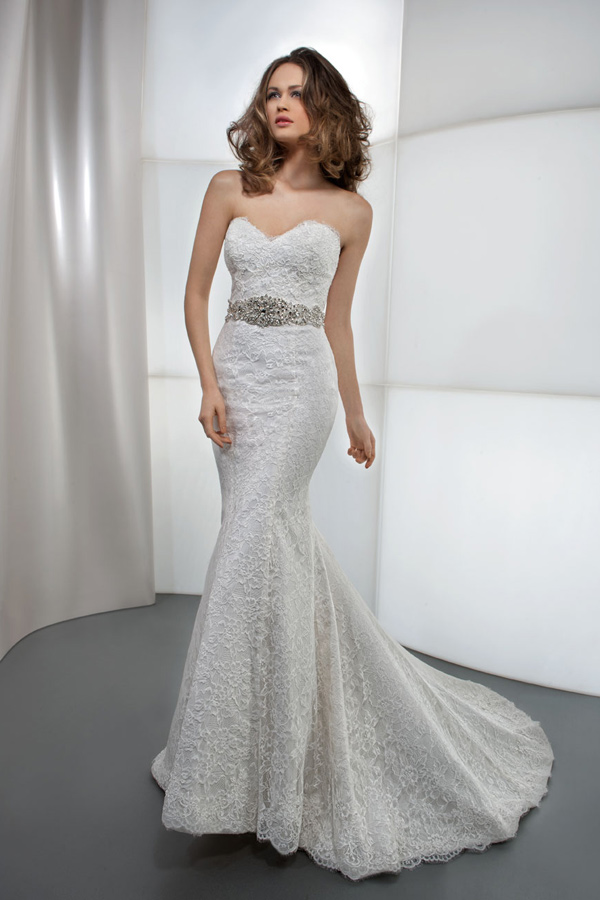 Lace Mermaid Wedding Dress Ireland : Demetrios wedding dresses